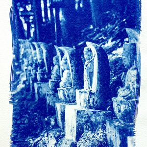 Jizo Cyanotype