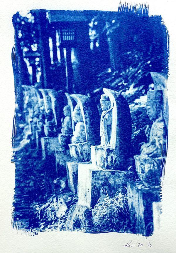 Jizo Cyanotype