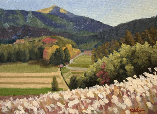 """Tabito Valley"" - Oil on canvas"